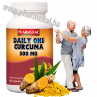 Pharmekal DAILY ONE - KURKUMA kivonat 500 mg 180 db